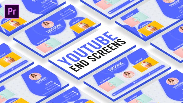 Videohive Clean Youtube End Screens 27066798 Free