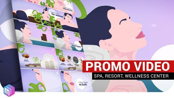 Videohive SPA, Resort, Wellness center – Promo video 27269755 Free