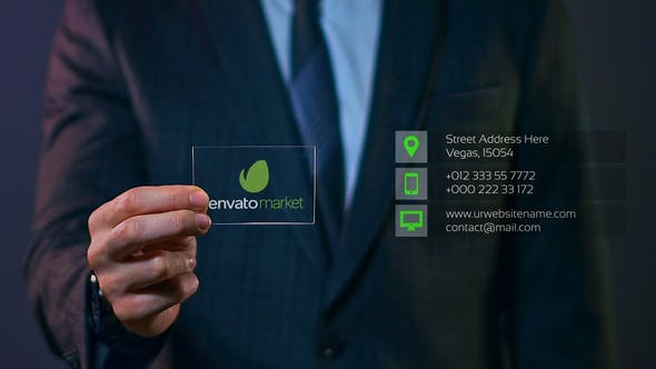 Videohive Business Card 27337670 Free