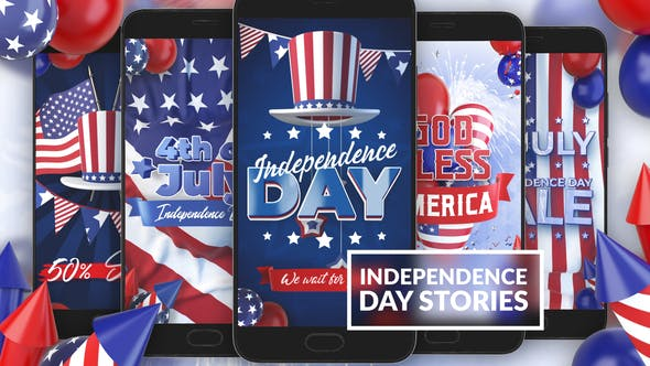 Videohive 4th Of July Instagram Stories Free Download