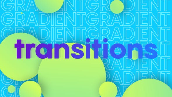 Videohive Colorful Gradient TransitionsAE 27405281 – After Effects Project Files