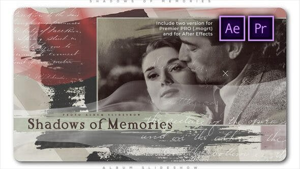 Videohive Shadows of Memories Album Slideshow 27456705 Free