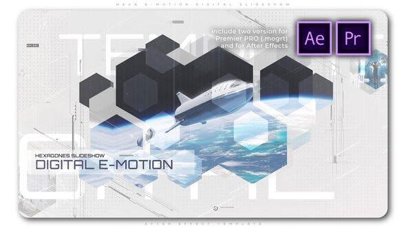 Videohive Hexa E Motion Digital Slideshow 27456733 Free