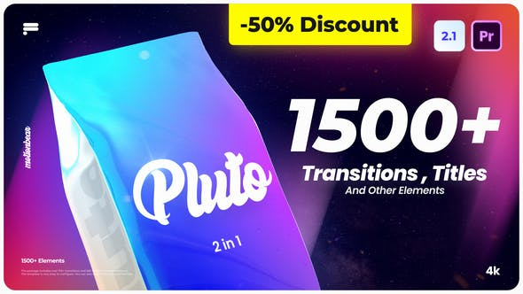 Videohive Transitions And Titles V2.1 25930303