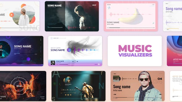Videohive Audio Music and Podcast Visualizers 27590301 Free