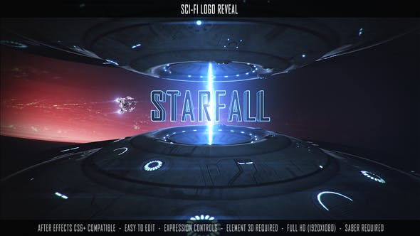 Videohive Sci-Fi Logo Reveal 27617409 Free Download