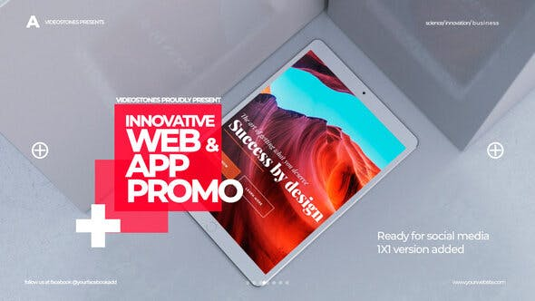 Videohive Innovative App & Web Promo 27659685 Free Download