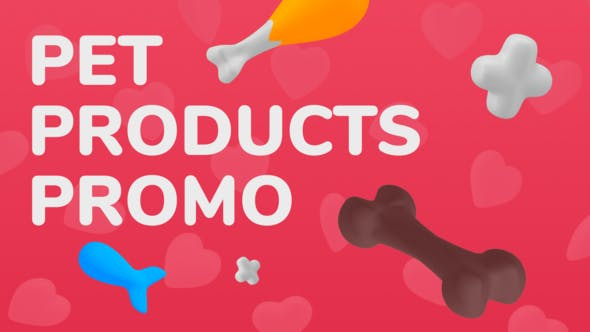 Videohive Pet Products Promo 27680277 Free Download
