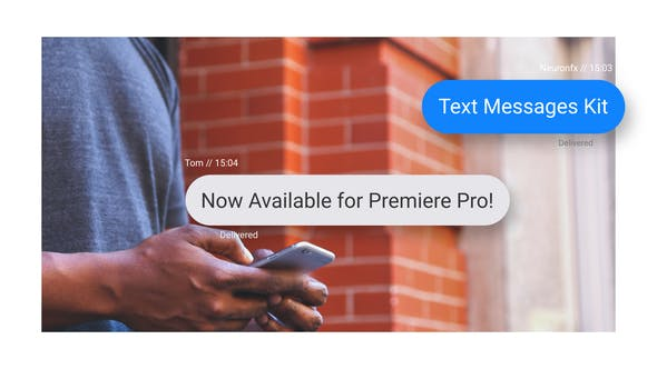 Videohive Text Messages Toolkit 27540943 Free