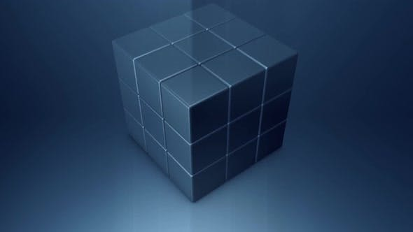 Turn a Cube Into a Ball with a Seamless Loop by Sivolg