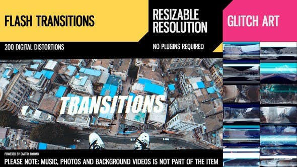 Videohive – Flash Transitions 28189890