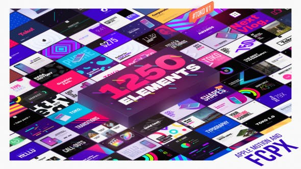 Graphics Pack - contender for best final cut pro titles plugin