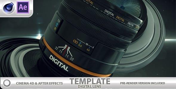 Digital Lens by raulofs | VideoHive