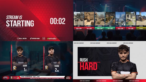 Videohive Esport Broadcast package 28677545 – After Effects Project Files
