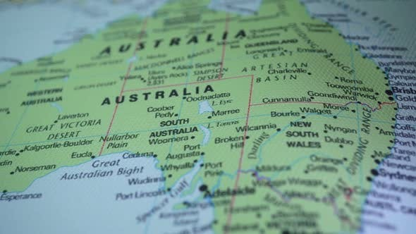 Map Of Australia Video.Australia On The World Map By Vulkanvh Videohive