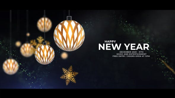 Videohive – Christmas Party Invitation 2021 29366569