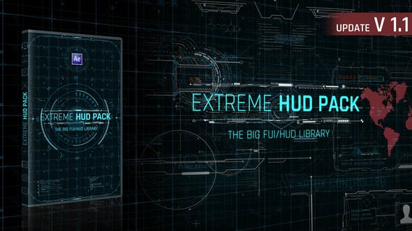 Videohive – Extreme HUD Pack V1.1 – 28985545 Free Download