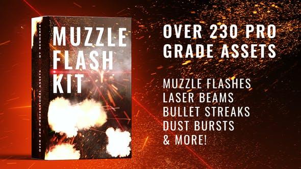 Videohive – Real Muzzle Flash Kit – 29449489 Free