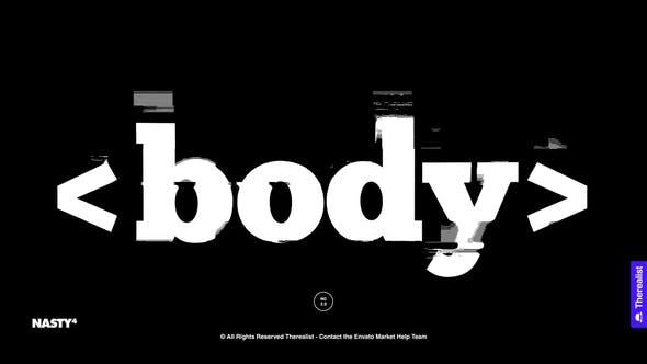Glitch Typography