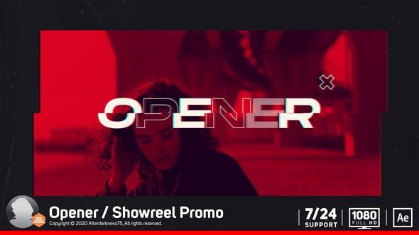 Videohive – Opener / Showreel Promo 29409915 Free