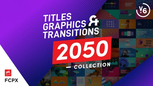 FCPX Titles Graphics & Transitions - contender for best final cut pro titles plugin