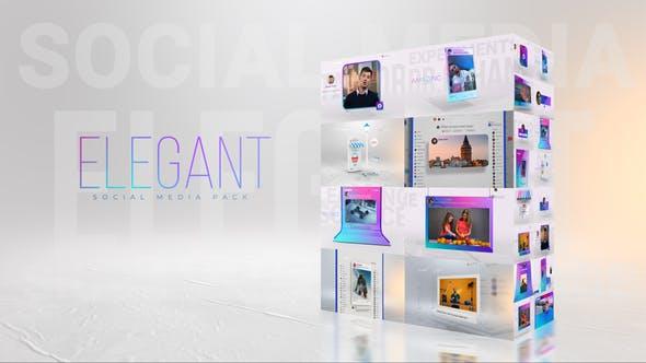 Videohive Elegant I Social Media Pack 30386619