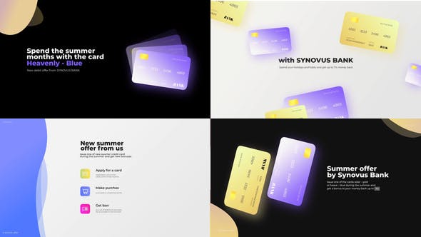 Videohive – Bank card promo presentation 30746471