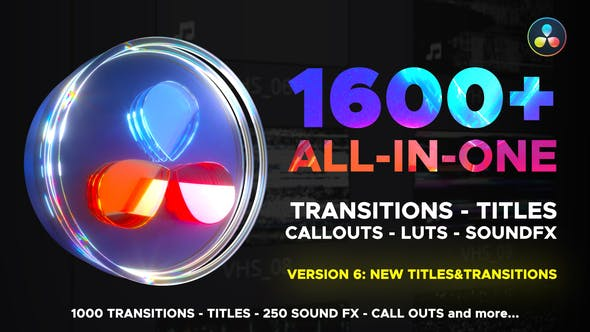 Transitions Library for DaVinci Resolve