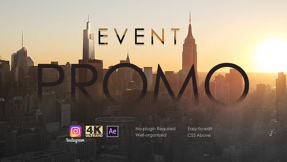 Event Promo by FuryFrog | VideoHive