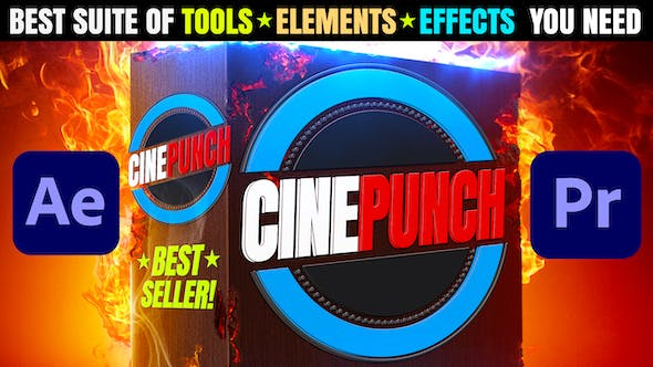 CINEPUNCH I  Video Effects Suite for Adobe After Effects & Adobe Premiere Pro