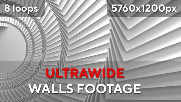 Ultra Wide Wall Footages by -ExotiC- | VideoHive