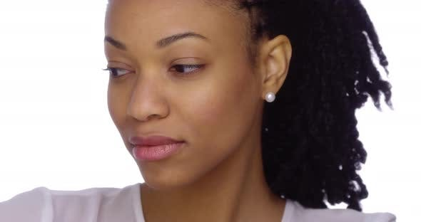 Pretty african women