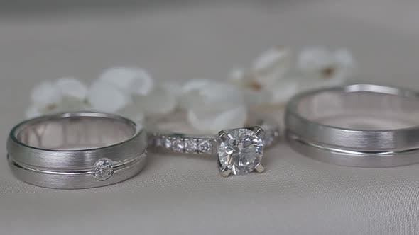 Beautiful Wedding Rings For A Wedding Expensive And Elegant Gift