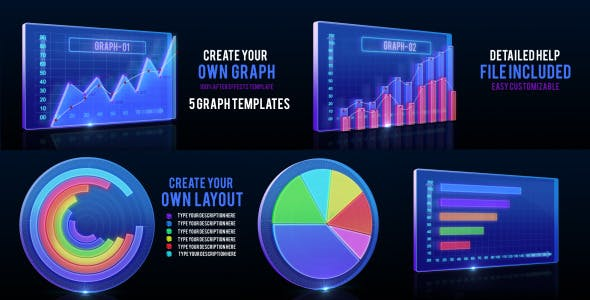 Animated Graph and Infographic Template by masterdot | VideoHive