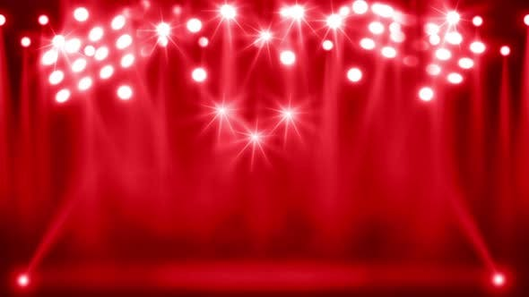 Red Lights Background By Thehivestudio Videohive