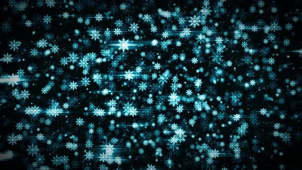4k Abstract Christmas Thin New Year Background Loop by