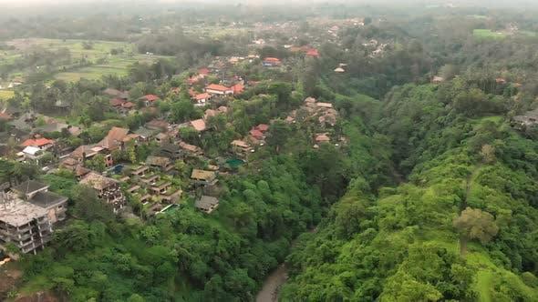 Aerial View Of The Artists Walk Campuhan Ridge Walk In Ubud Village Bali Island By Shiva4d