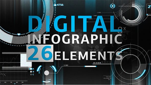 Animated Infographics from VideoHive