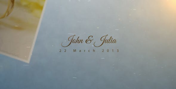 Videohive Wedding-Family Gallery Slideshow 4357464 Free