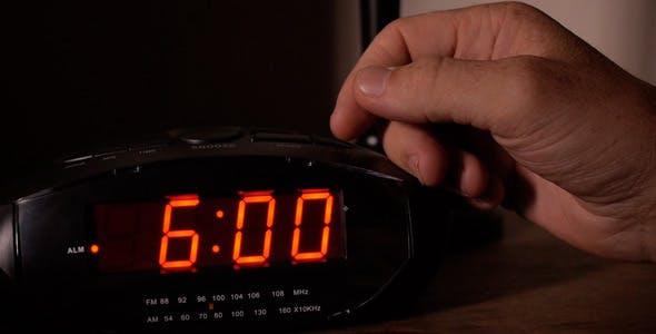 Alarm Clock Goes Off At 6AM