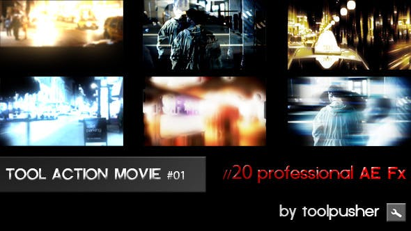 Tool Action Movies Fx 01 by toolpusher | VideoHive