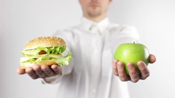 Healthy Vs Unhealthy Food by Vintervarg | VideoHive