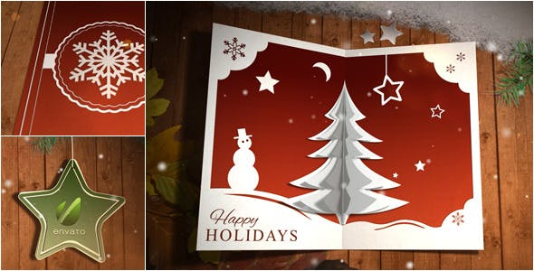 Christmas Card Pop Up by 3eka   VideoHive