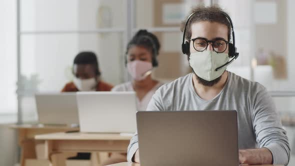 call center during pandemic