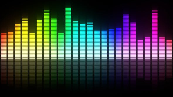 Colorful Audio Equalizer by FXBoxx | VideoHive