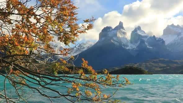 Lake Pehoe at Dawn Torres Del Paine Chile by antonpetrus