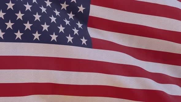 USA Flag 4K Seamless Loop by HaeroTV | VideoHive