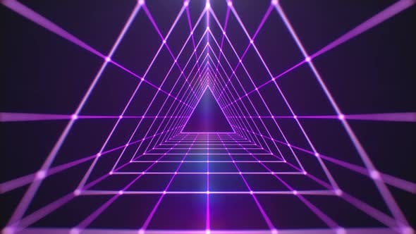 Retro 80's Background by VictoryBox   VideoHive