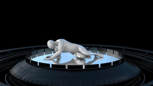 Android and Circle by 3DAnimals | VideoHive