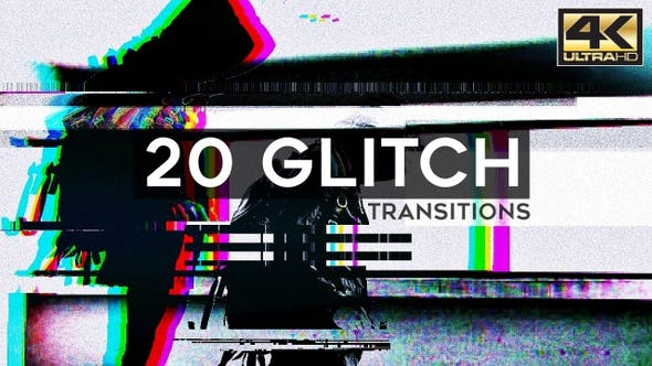 Glitch Transitions by TopStyler | VideoHive